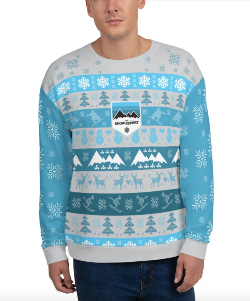 The Snow Report's Most Beautiful Ugly Crewneck